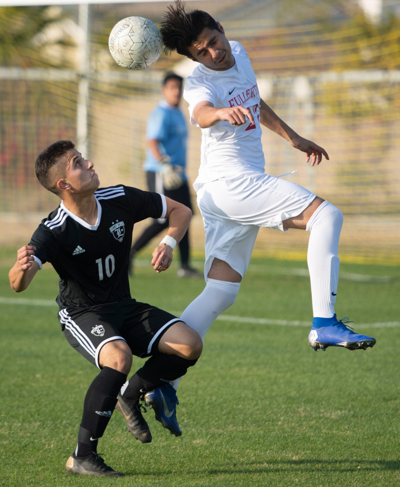 Boy's Soccer loos a heartbreaker to Buena Park in double over time 2-1