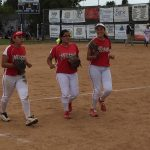 Girls Varsity Softball beats Rosary Academy 8 – 3