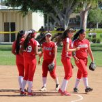 Girls Varsity Softball falls to La Habra 3 – 1