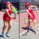 Girls Varsity Tennis beats Buena Park 15 – 3