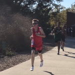 Boys Compete In League Meet; Perez and Abernathy Clock first Sub 19:00.