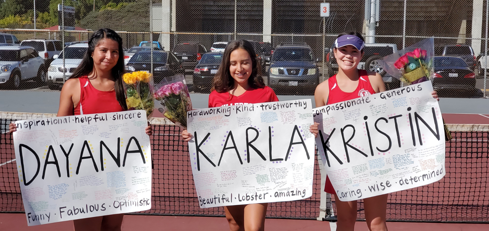 Girls Varsity Tennis beats Sonora 16 – 2