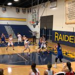 Girls All Basketball falls to Valencia/Placentia 57 – 39