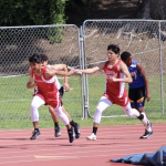 Boys Track finishes 2nd in La Mirada, Santa Fe tri-meet