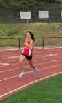 Girls Track Competes At Pasadena Games