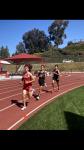Boys Track Competes At Pasadena Games