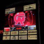 Football defeats GA's Glenn Academy # – #