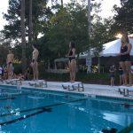 Girls Varsity Swimming beats Summerville 105 – 49