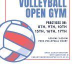 Volleyball Conditioning Begins July 8