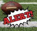 B-Team & JV Football Alert!