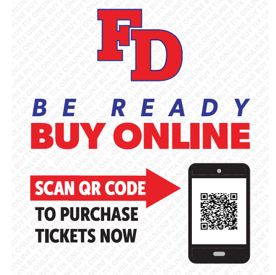 ALERT! All Athletics tickets will be ONLINE ONLY!