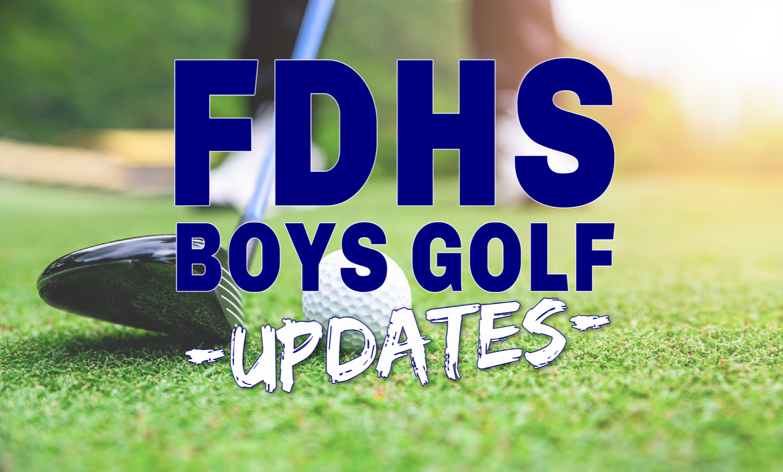 2021 FDHS BOYS GOLF UPDATES