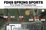 2021 Spring Sports Try Outs!