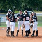 The Lady Bulldogs Get Two-Hit Shutout from Carrlyn Kiser in 11-0 win over North Atlanta High School