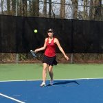 The Lady Tennis Dawgs Defeated Sprayberry 4-1