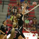 Volleyball Dominates Against Roswell High School
