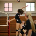 Volleyball Splits with Kell & Cambridge
