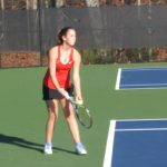 Girls Tennis Win