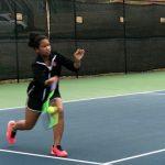 Girls Tennis Victory