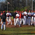 Baseball Sweeps North