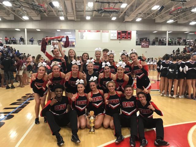 Comp Cheer Wins Again