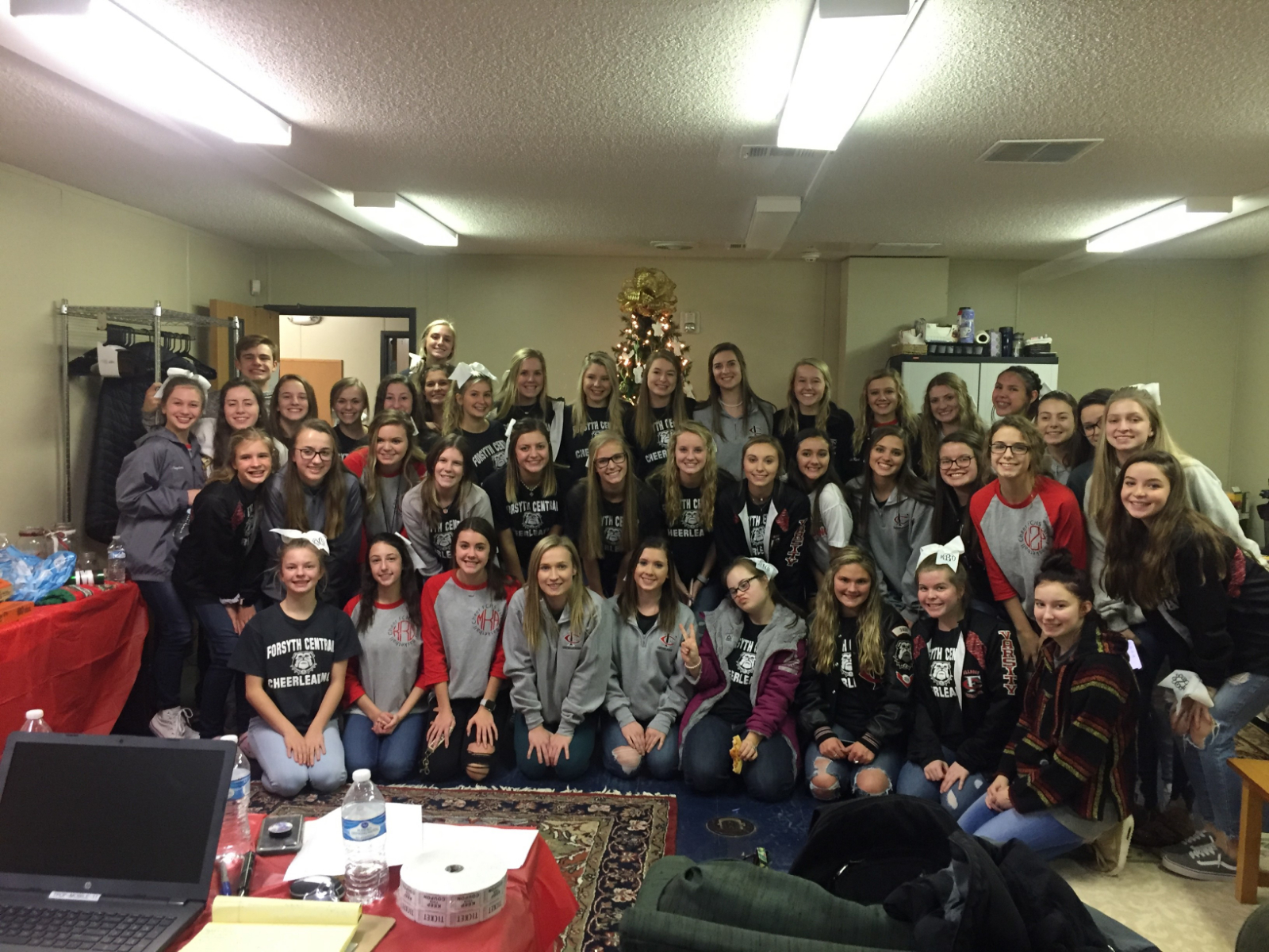 Cheer Gives Back To Community
