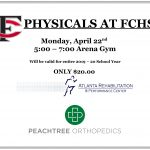 Physicals at FCHS