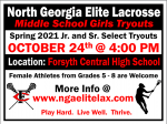 Girls Lacrosse Feeder Tryouts
