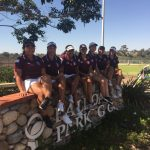 Scripps Ranch High School Girls Varsity Golf beat San Diego High School 215-325