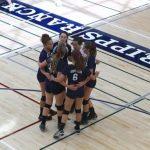 JV Girl's Volleyball defeats Santa Fe Christian (25-23) (20-25) (15-8)