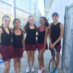 JV Tennis loses close match to Westview 10-8