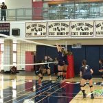 JV Girl's Volleyball fall to Escondido in tight 3 set match