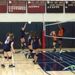 Freshman Girl's Volleyball defeats Escondido 25-12 25-15