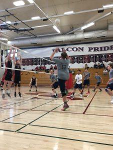 Varsity Boys Volleyball vs. Canyon Crest