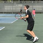 Varsity Boys Tennis beat Cathedral