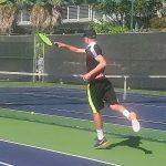 Varsity Boys Tennis beat Pacific Ridge