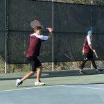 Varsity Boys Tennis beat Coronado