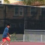 JV Boys Tennis beat La Jolla