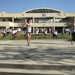 Cheer tryouts underway at Scripps Ranch High School