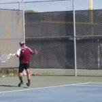 Varsity Boys Tennis beat Mira Mesa