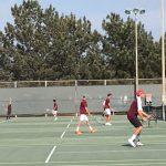 Varsity Boys Tennis beat Point Loma