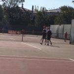 Varsity Boys Tennis beat Cathedral Catholic