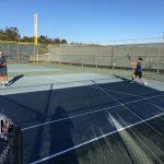 JV Boys Tennis beat Westview