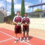 Ganti & Ghassemi win Western League Doubles Championships