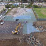 Construction Update – SRHS Tennis Courts 5/16/2017