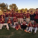 Varsity Baseball beats Saints in 13 innings – 2017 Western League Co-Champions