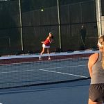 JV Girls Tennis Fall To La Jolla In Close Match