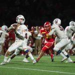 Varsity Football Lose To Cathedral Catholic