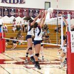Varsity Girls Volleyball Beat OLP In 4