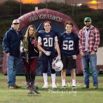 Football Senior Night - Class Of 2018